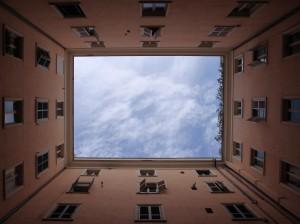Terracotta wall windows